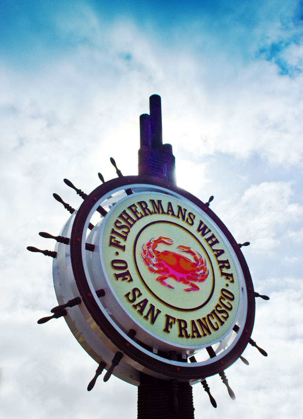 Scion Staffing San Francisco Image of Fishermans Wharf Sign